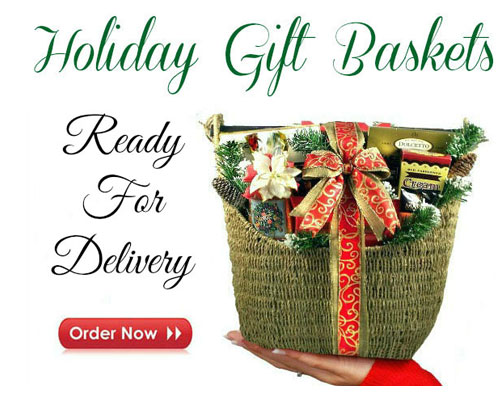 all about christmas gift baskets