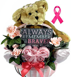 breast cancer patient gift delivery