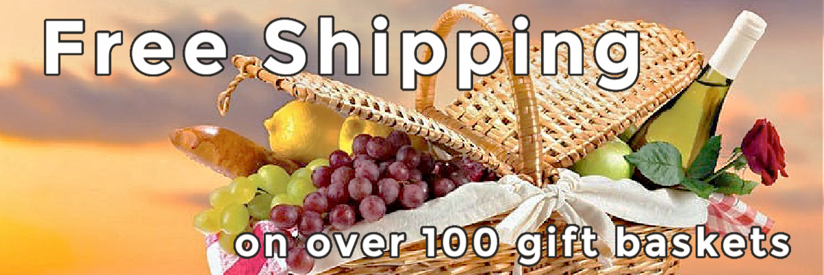 free shipping gift baskets online