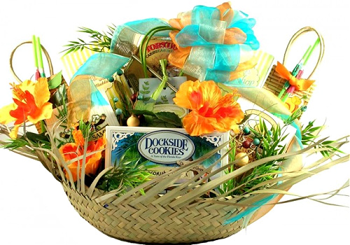 the beach comber gift basket