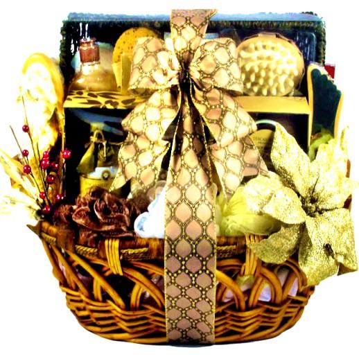 Luxury Spa Basket