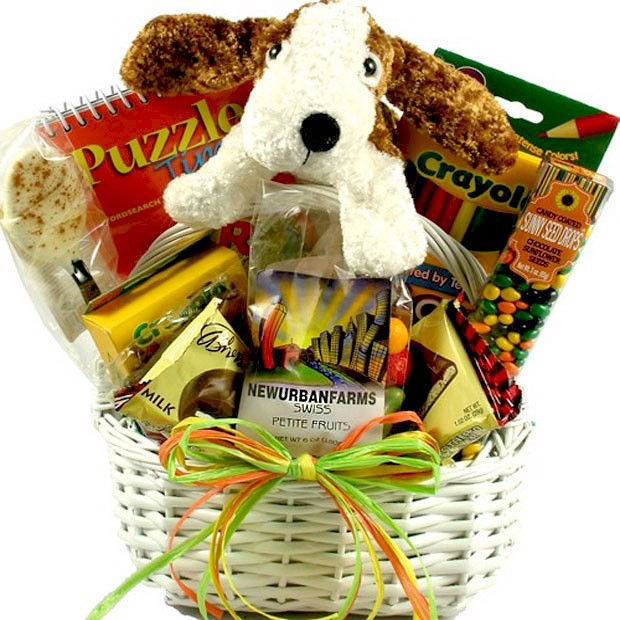 kids gifts and gift baskets for a child