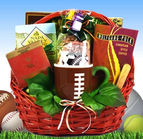 sports gift baskets