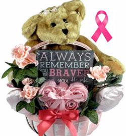 breast cancer gift basket delivery